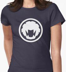 Yellow Wind Ranger - Ninja Storm Womens Fitted T-Shirt