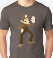 Brown-a-Weegee Unisex T-Shirt