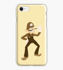 Brown-a-Weegee iPhone Case/Skin