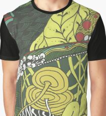 Wild Herbs - Marker Doodle Graphic T-Shirt