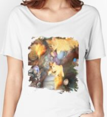 Galaxy Cats In Space Women's Relaxed Fit T-Shirt