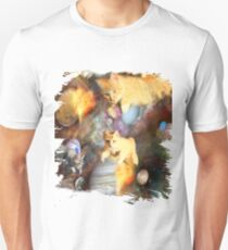 Galaxy Cats In Space Unisex T-Shirt