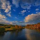 Sweep of Clouds  by Robert Burns Miller