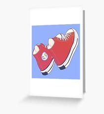 hi tops Greeting Card
