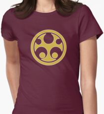 Crimson Thunder Ranger - Ninja Storm Womens Fitted T-Shirt