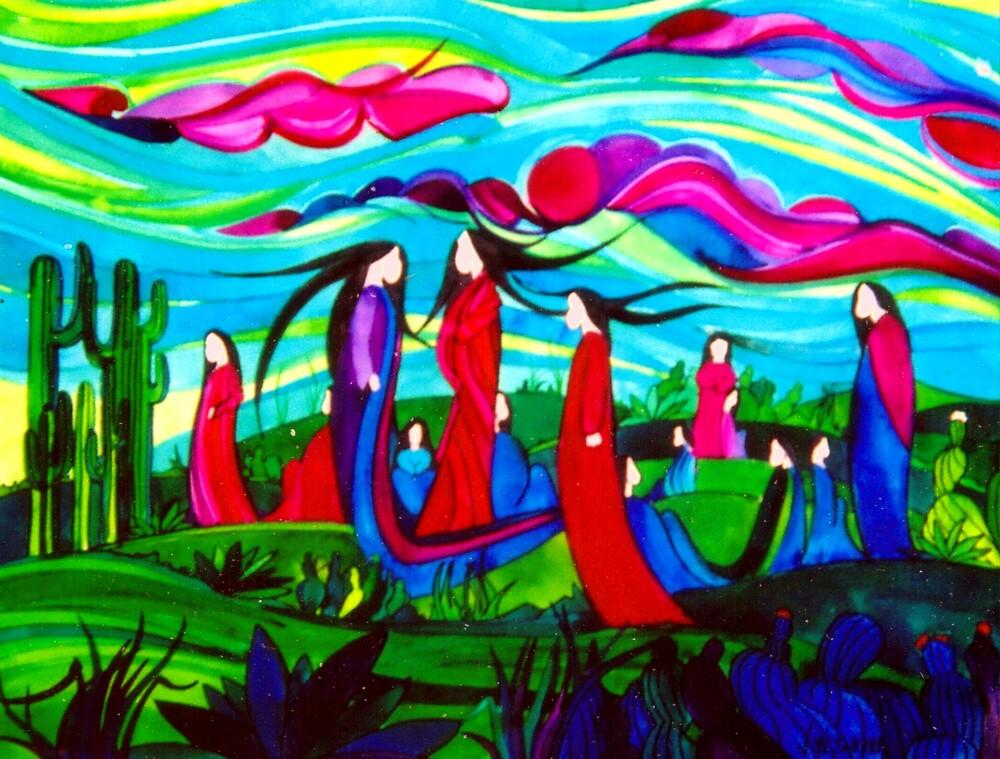 Ladies Together by Jamie Winter-Schira