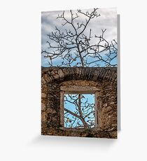 Room with a view Greeting Card