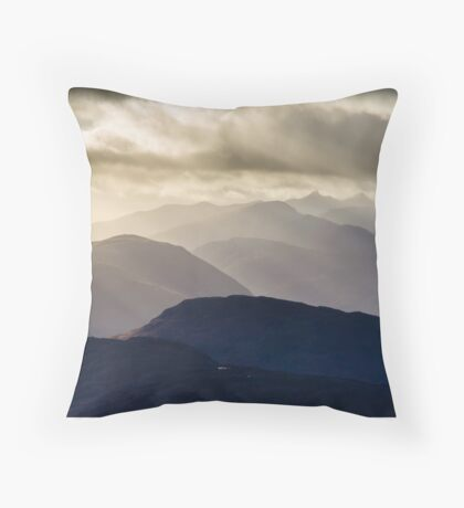 Cruachan and Friends Throw Pillow