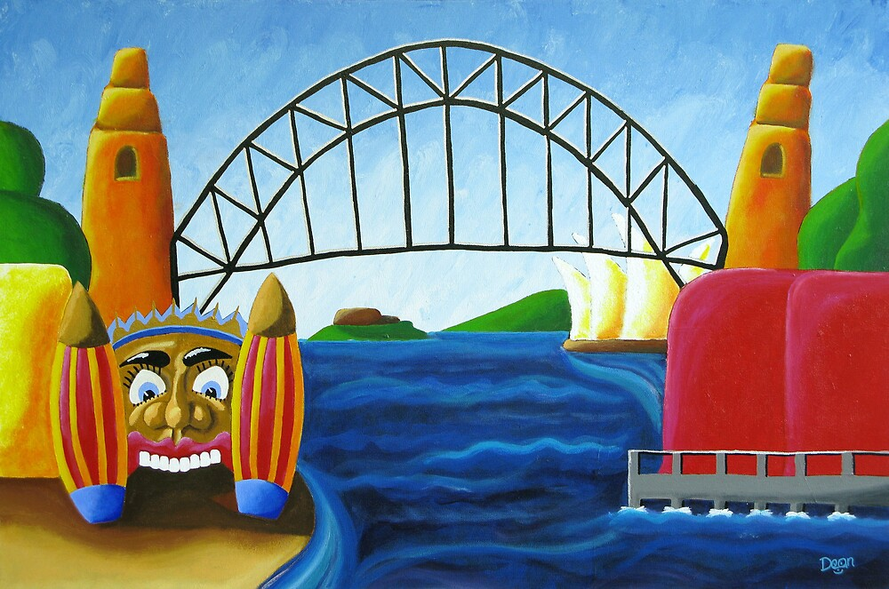 Smiling In Sydney by Dean Williamson