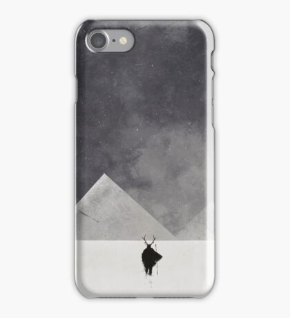 Mountain men iPhone Case/Skin