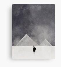Lámina metálica Hombres de montaña