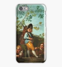 Francisco De Goya Y Lucientes - Boys Playing At Soldiers iPhone Case/Skin