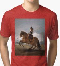 Francisco De Goya Y Lucientes - A Garrochista Tri-blend T-Shirt