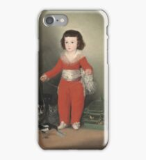 Francisco De Goya Y Lucientes - Manuel Osorio Manrique De Zuniga iPhone Case/Skin