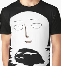 Sitama Fool Face One Punch Man T-Shirt Anime River Moon One Piece Death Note Tokyo Ghoul Renamon Graphic T-Shirt