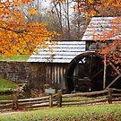 Mabry Mill in Fall by Norbert Rehm