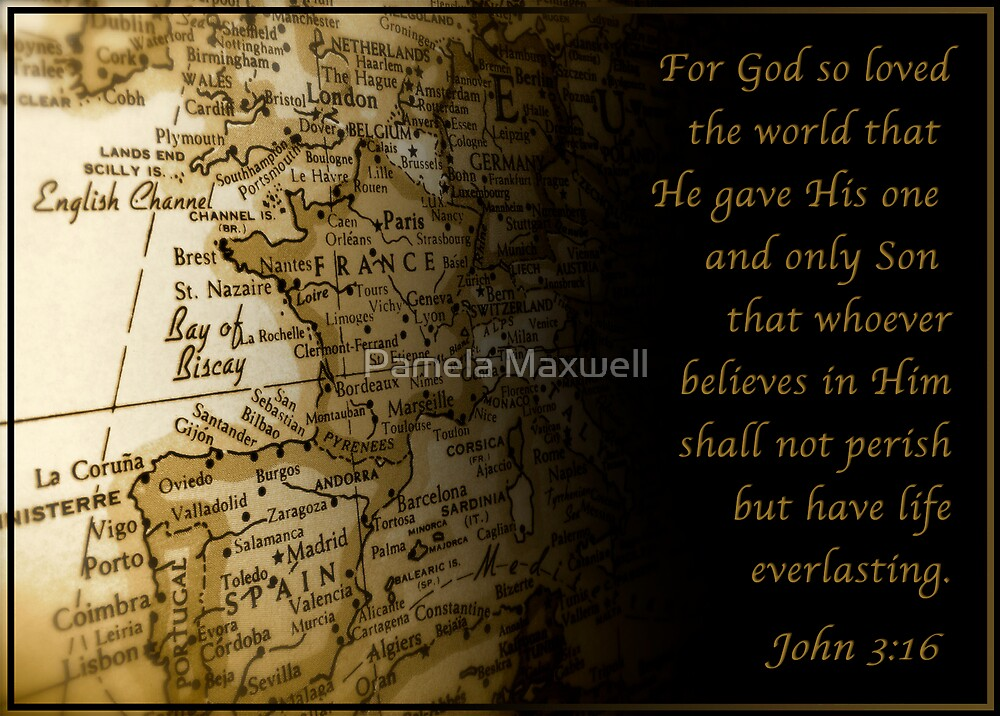 For God so loved the World by Pamela Maxwell