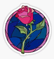 Pink-Rose-Floral Sticker