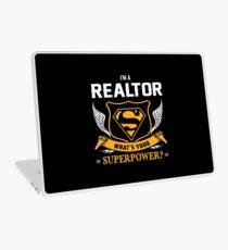 REALTOR super power Laptop Skin