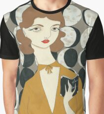 Moon Phases Woman Graphic T-Shirt