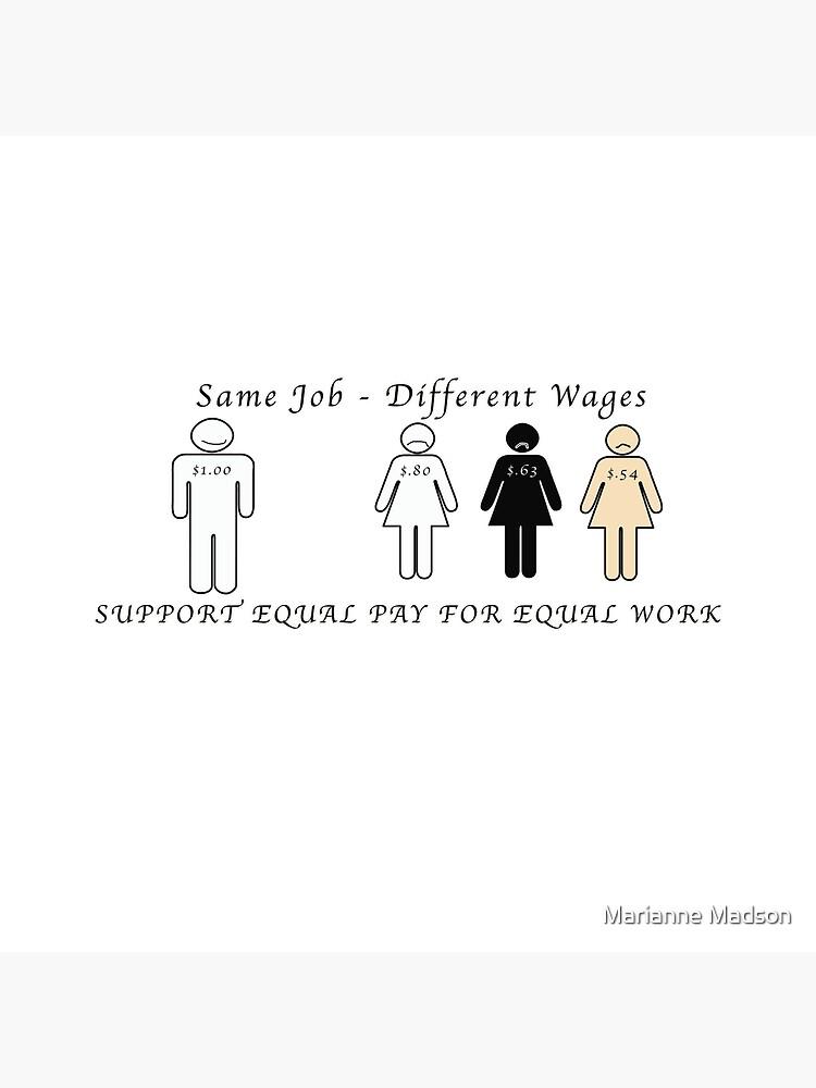Salario igual para trabajos iguales de MMadson