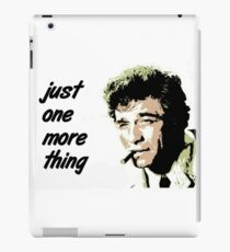 Columbo iPad Case/Skin