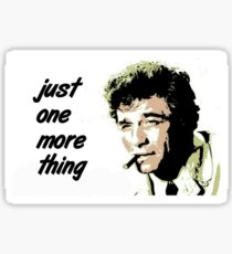 Columbo Sticker