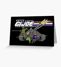 Gaming [C64] - G.I Joe Greeting Card