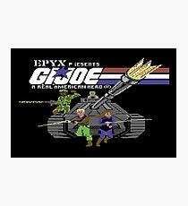 Gaming [C64] - G.I Joe Photographic Print