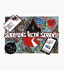 sleeping with sirens Photographic Print