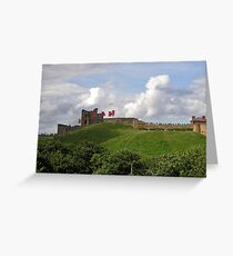 Tynemouth castle  Greeting Card