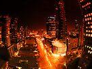 Melbourne city... by JAZ art