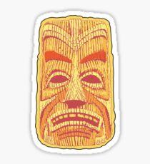 Freaki Tiki Orange Sticker