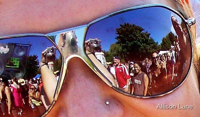 Sunglass Reflection by Allison Lane