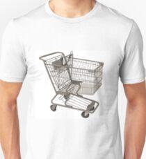 wicked shopping cart Unisex T-Shirt