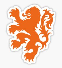 Koningsdag Leeuw 2018 - King's Day Netherlands Celebration Nederland Sticker