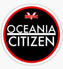 OCEANIA CITIZEN Sticker
