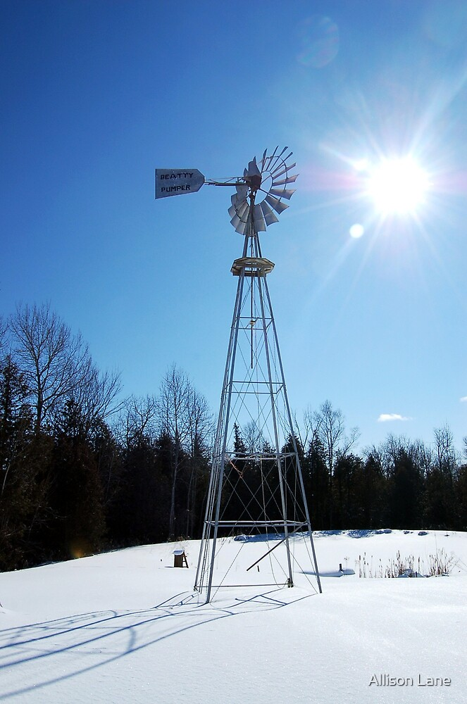 Windmill by Allison Lane