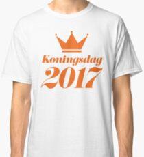 Koningsdag Crown 2017 - King's Day Netherlands Celebration Nederland Classic T-Shirt