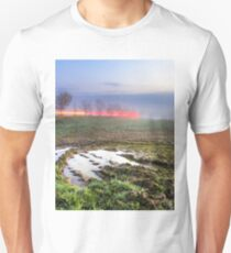 Fog on meadow T-Shirt