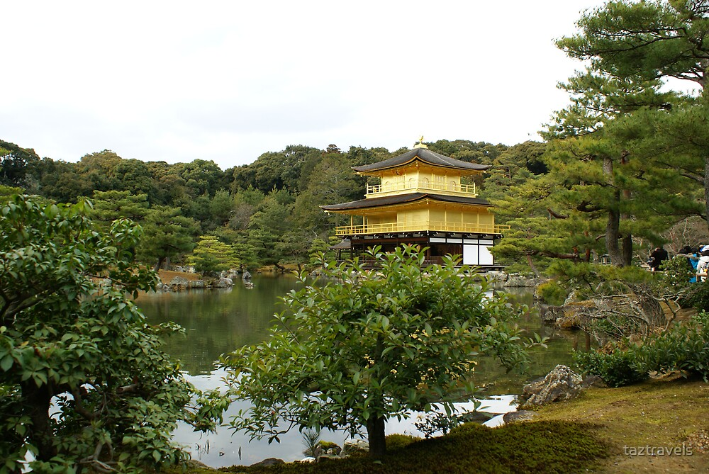 Japan - Golden Temple, Kyoto by taztravels