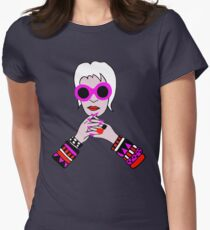 Iris Apfel Womens Fitted T-Shirt