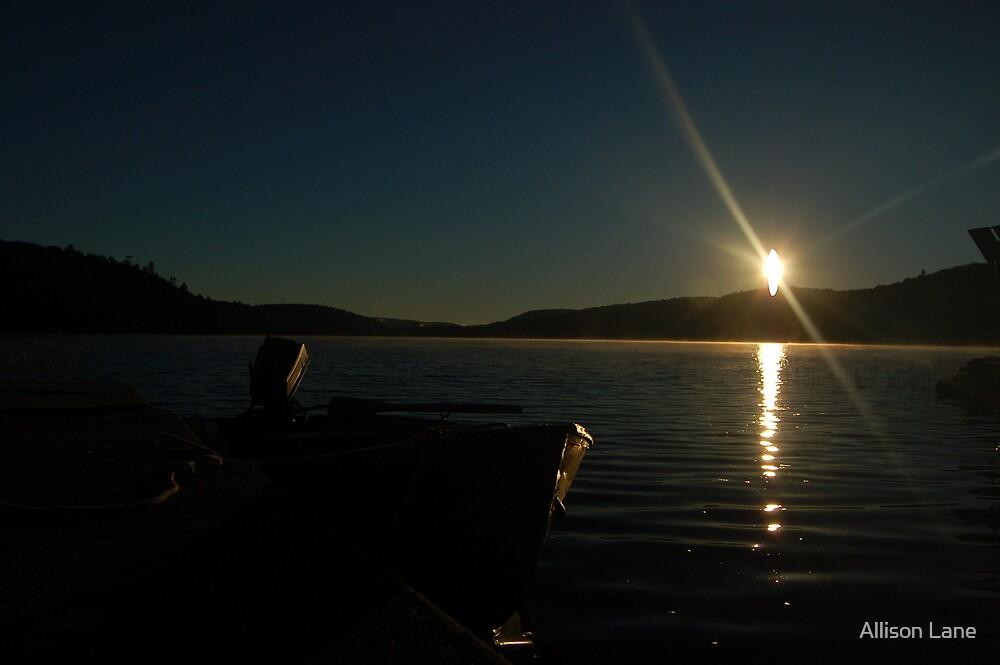 Clear Lake Sunrise by Allison Lane