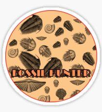 Fossiler Jäger Sticker