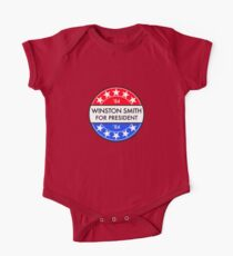 WINSTON SMITH FOR PRESIDENT '84 One Piece - Short Sleeve