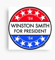 WINSTON SMITH FOR PRESIDENT '84 Canvas Print