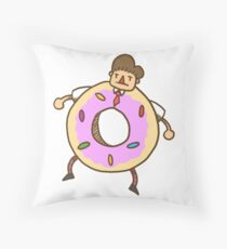 You are what you eat Throw Pillow