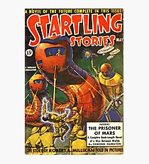 Vintage Startling Stories Pulp Science Fiction Photographic Print