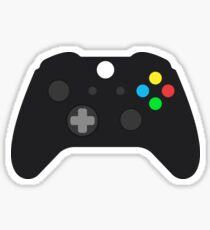 Video Game Console Gamepad Sticker