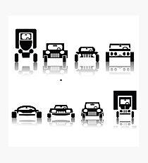 set of cars Photographic Print